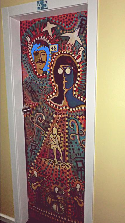 Funk House Door
